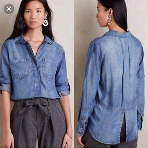 Anthropologie • Cloth and Stone Split Back Button